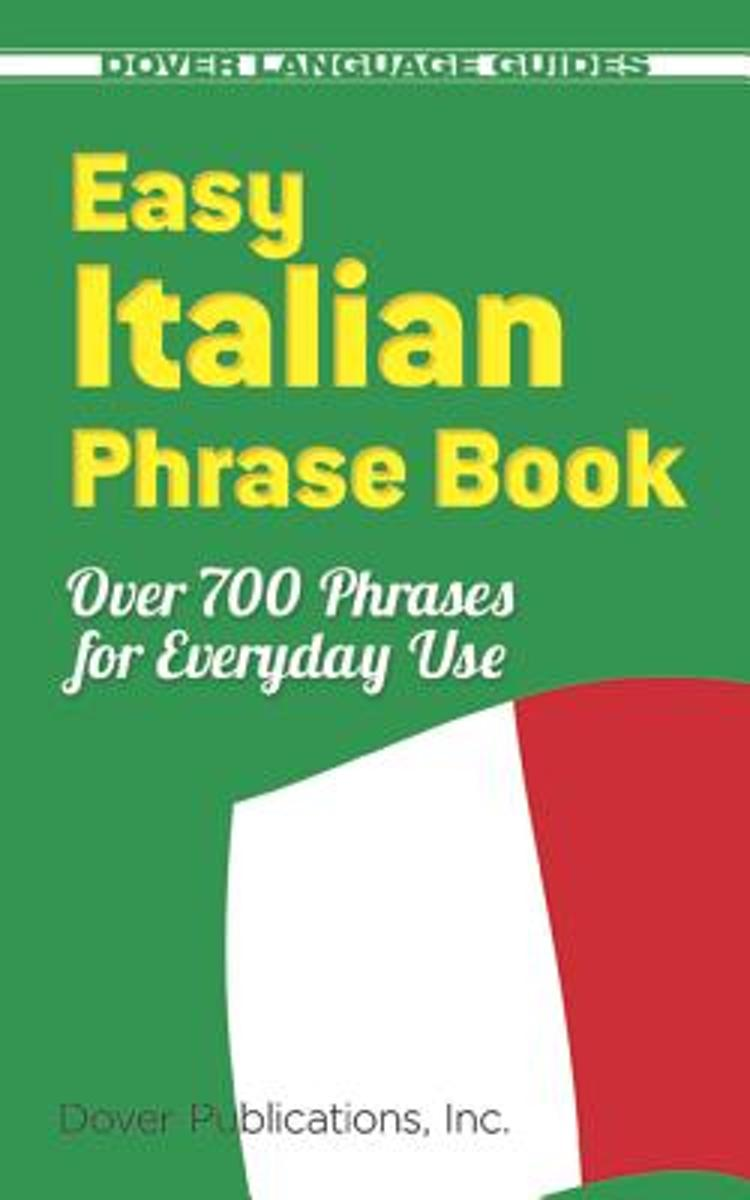 bol.com | Easy Italian Phrase Book, Dover Publications Inc | 9780486280851  | Boeken