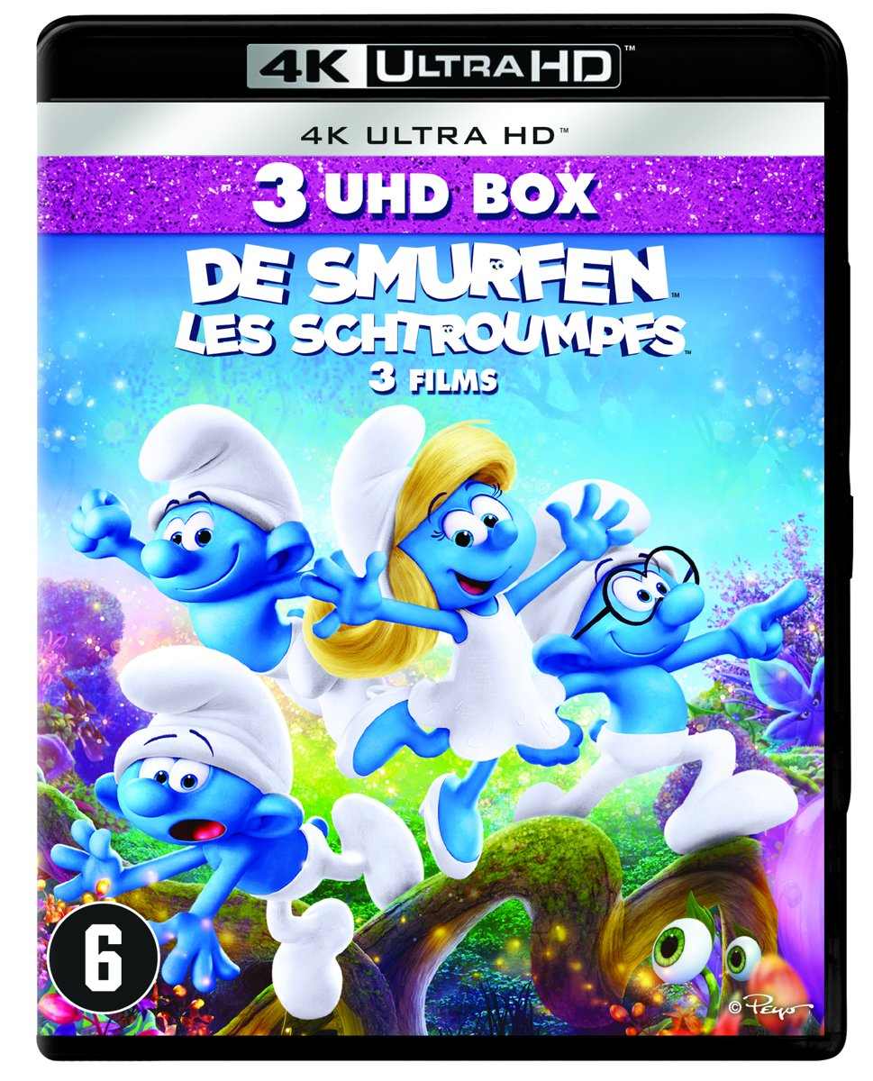 The Smurfs 1/2/3 (4K Ultra HD Blu-ray)-