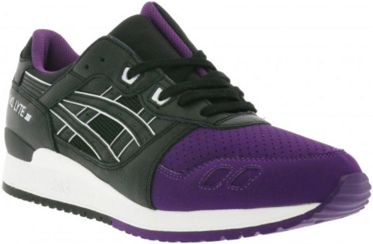 Asics Gel Lyte Iii Chaussures De Sport H5v0l 3390 Violet, Noir Taille 6,5 (38,5)