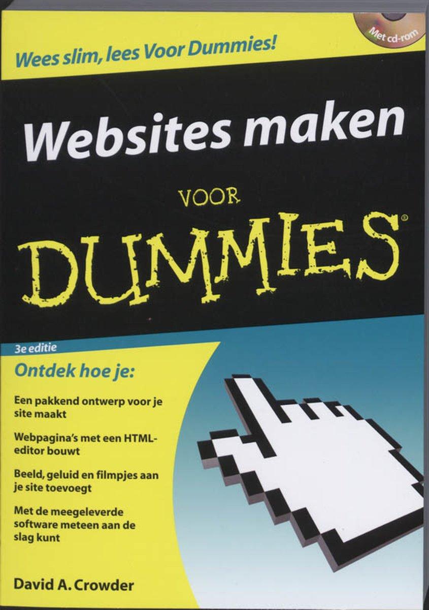 webpagina maken voor dummies