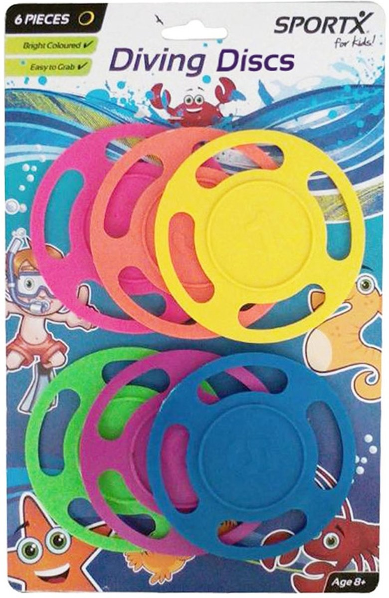 SportX Diving Discs 6 St. Junior **