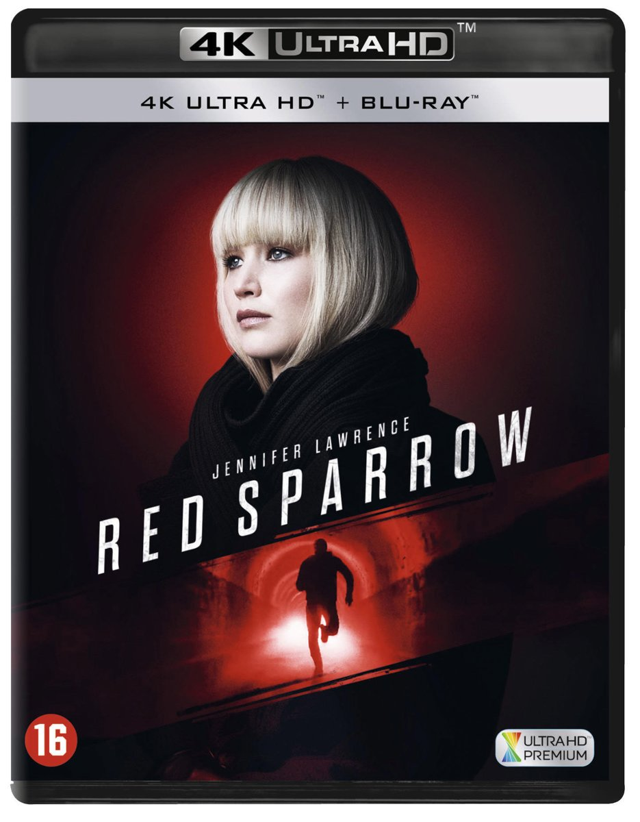 Red Sparrow (4K Ultra HD Blu-ray)-