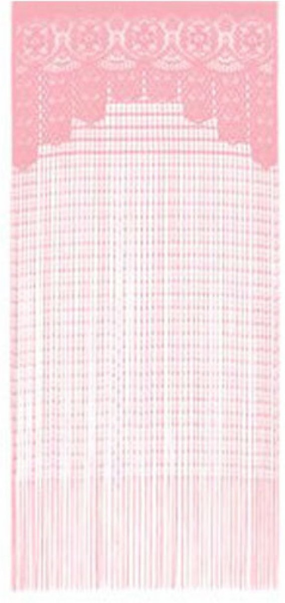 1001 Nights Curtain String - Gordijn - Roze 90x200 cm kopen