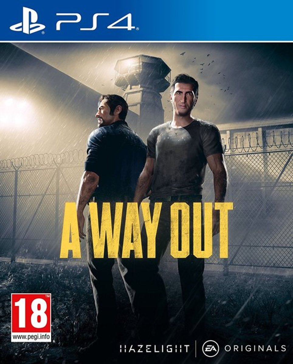 A Way Out PlayStation 4