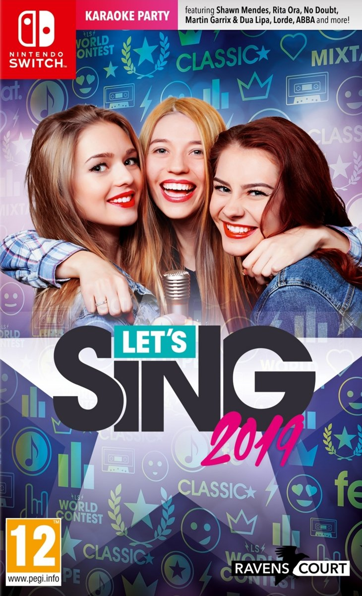 Let's Sing 2019 + Microphone UK Switch