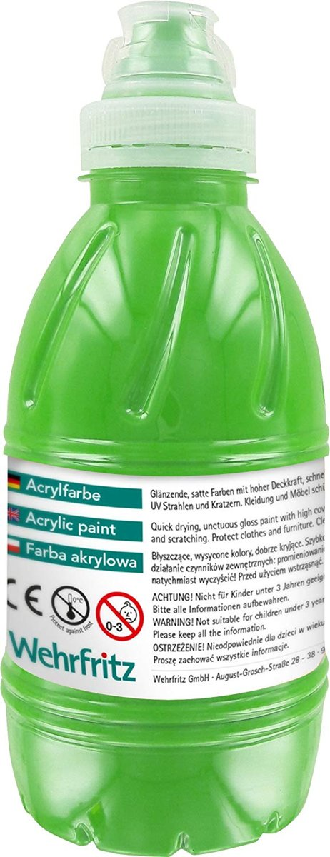 Haba Education - Acrylic Paint, green