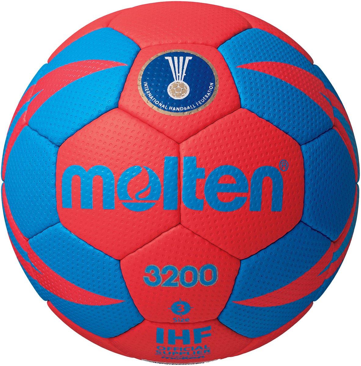 Molten Handbal - rood/wit/blauw maat 2 kopen