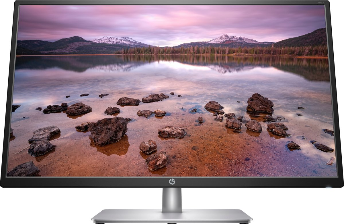 HP 32s computer monitor 80 cm (31.5'') Full HD LED Zilver