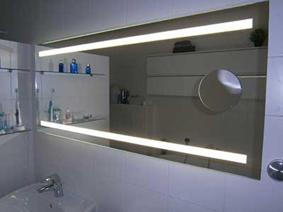 Verwarmde Badkamer Spiegel : Bol verwarmde badkamer spiegel met praktische led