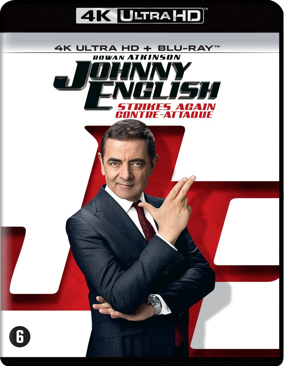 Johnny English - Strikes Again (4K Ultra Blu-ray)-