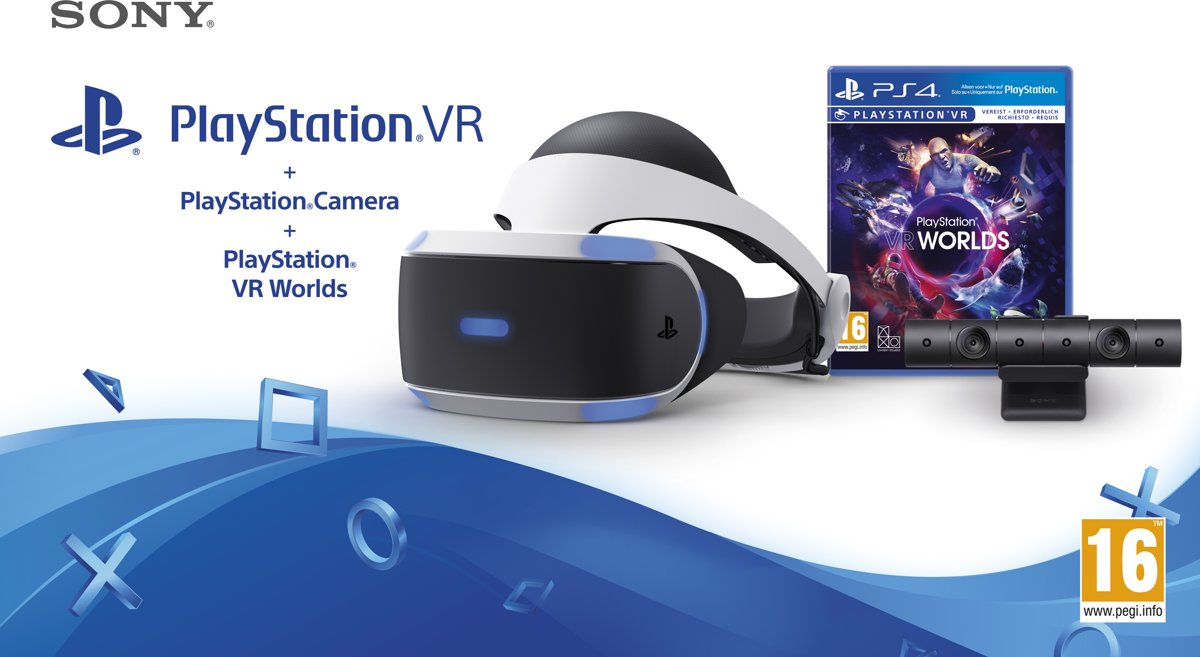 Sony PlayStation VR + VR Worlds + PS Camera kopen