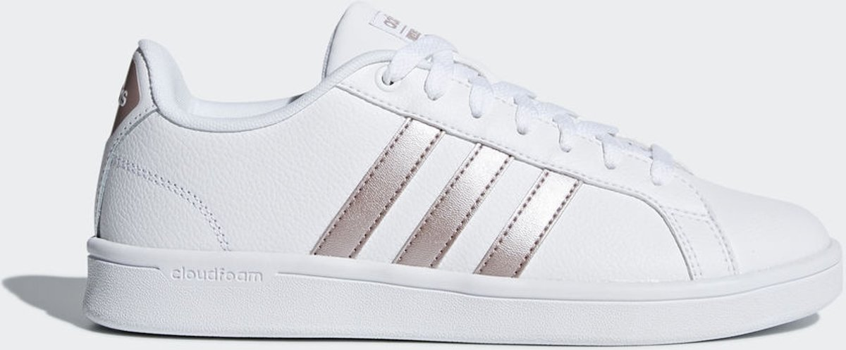 Adidas - Cloudfoam Advantage - Sneaker laag sportief - Dames - Maat 40 -  Wit - Ftwr White