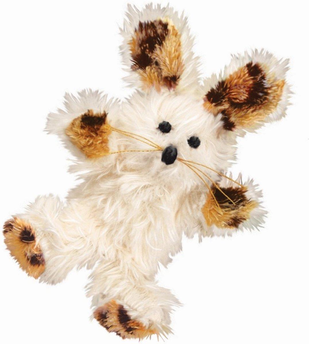 Kong Cat Softies Fuzzy Bunny - Kattenkruid - Beige kopen