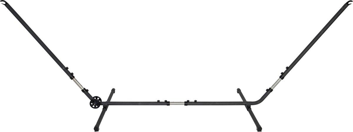 Hangmat standaard metaal met wielen (versterkte versie nieuwe uitvoering)