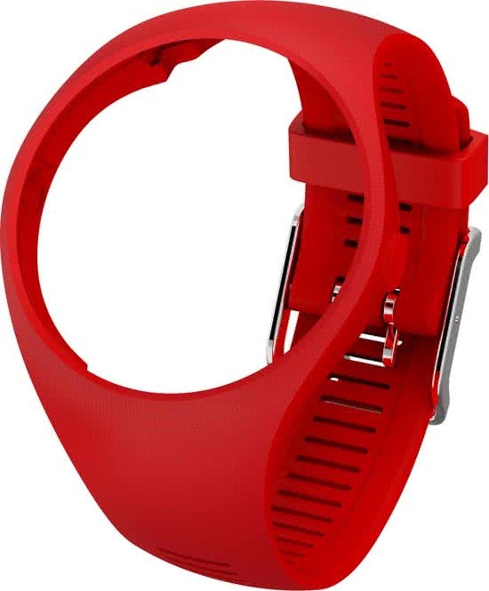 Polar M200 Horlogebandje - Sporthorloge - Rood - Maat M/L kopen