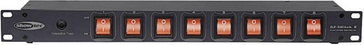 Showtec Showtec DJ-Switch 8, IEC uitgangen Home entertainment - Accessoires kopen
