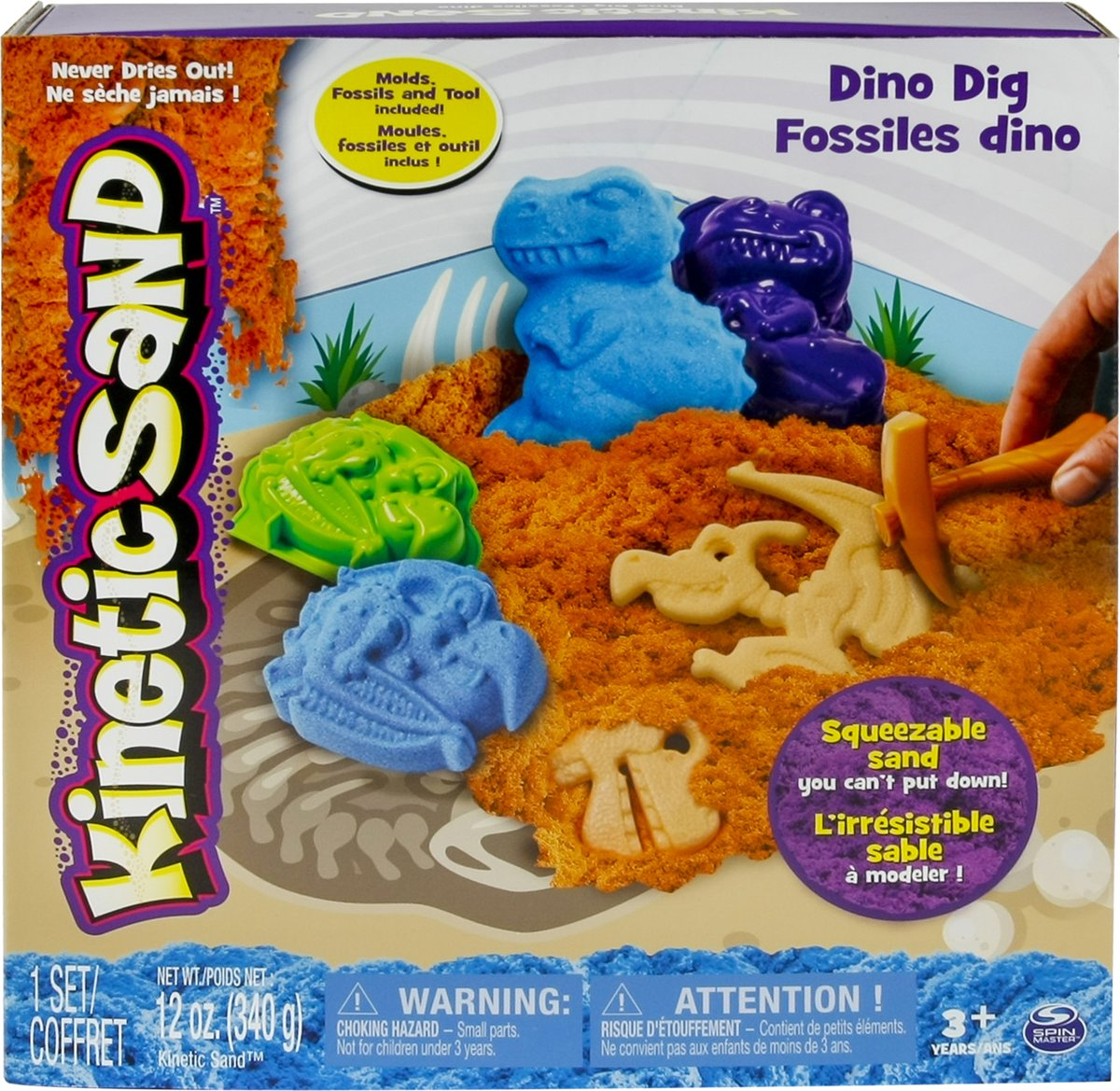 Kinetic Sand Dino Set - Speelzand