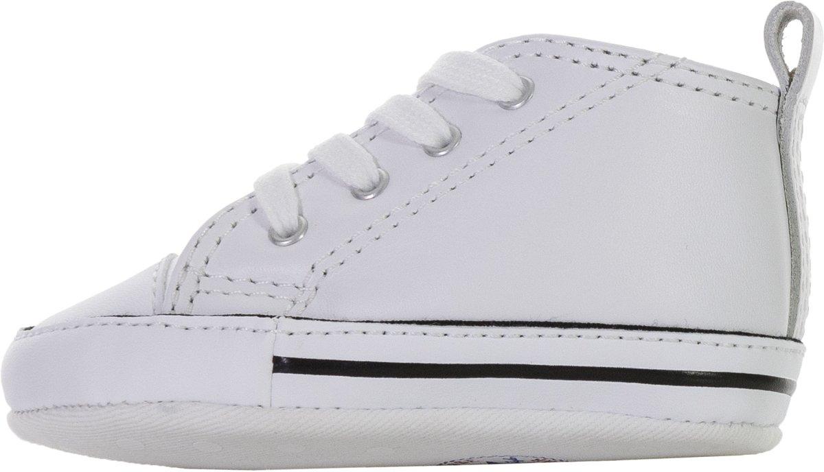 2925d622269 bol.com | Converse First Star Hi Sneakers - Maat 19 - Unisex - wit