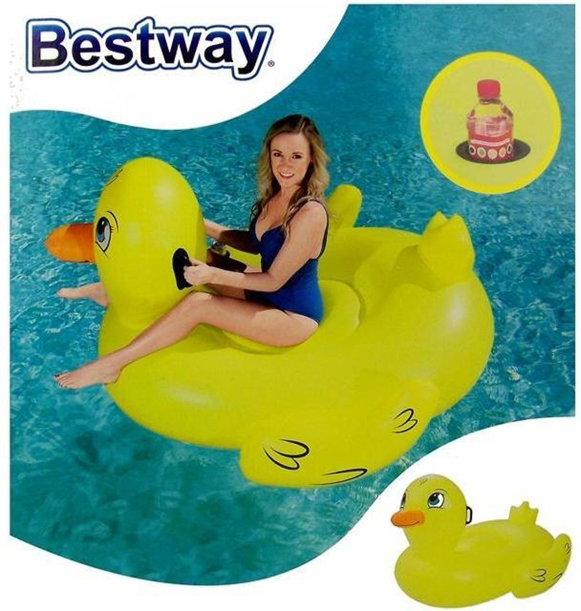 Bestway Opblaasbare eend XL
