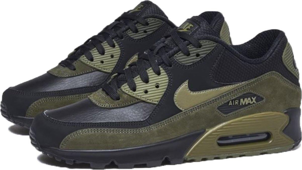 | Nike Air Max 90 Leather groenzwart Maat 47,5