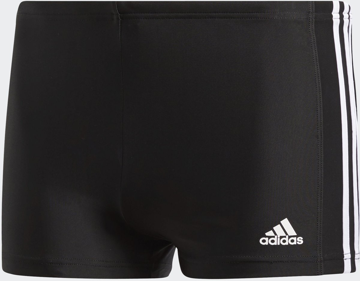 adidas Fitness Boxer 3 Stripes Zwembroek Heren BlackCore
