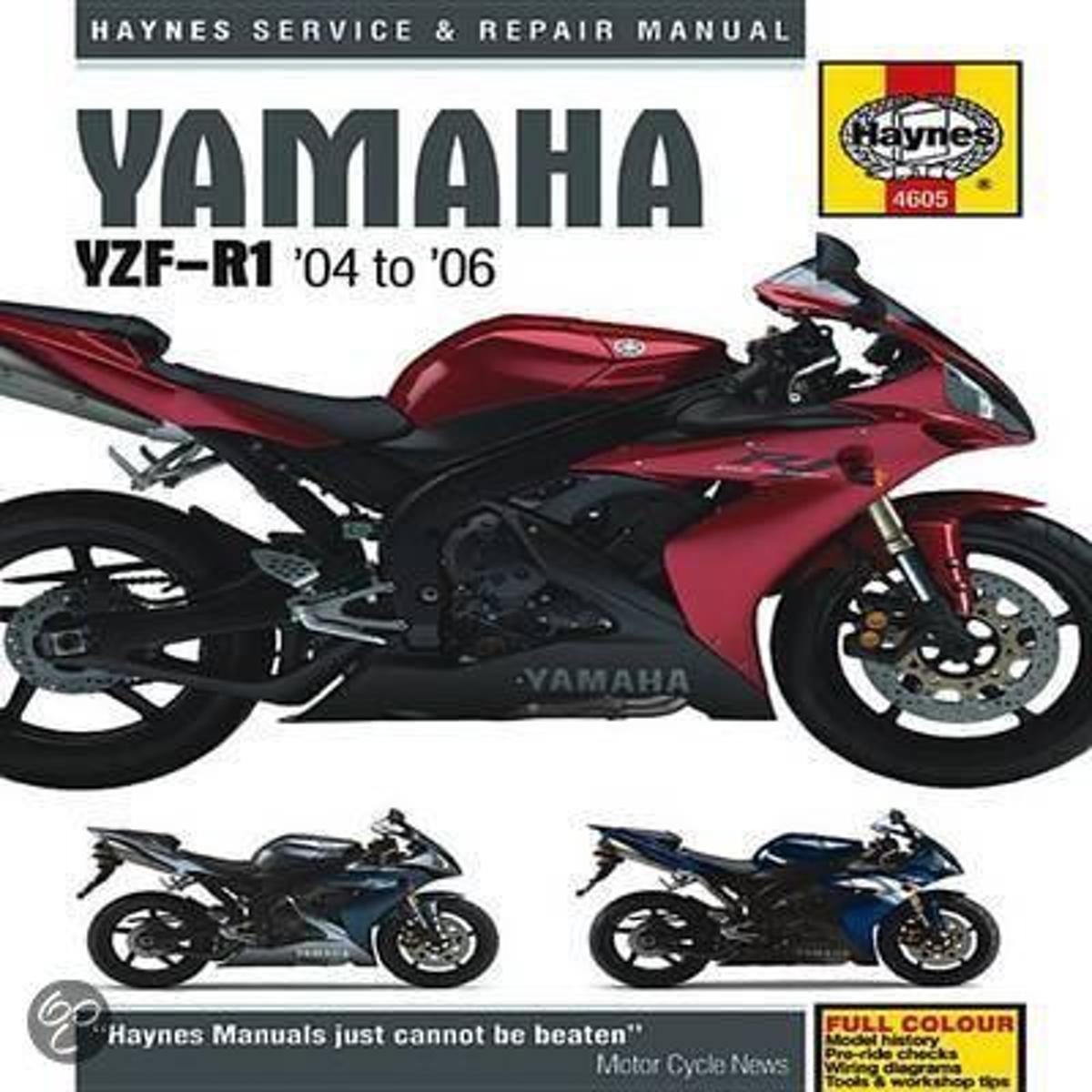 bol.com | Yamaha YZF-R1 Service and Repair Manual, Matthew Coombes |  9781844256051 | Boeken