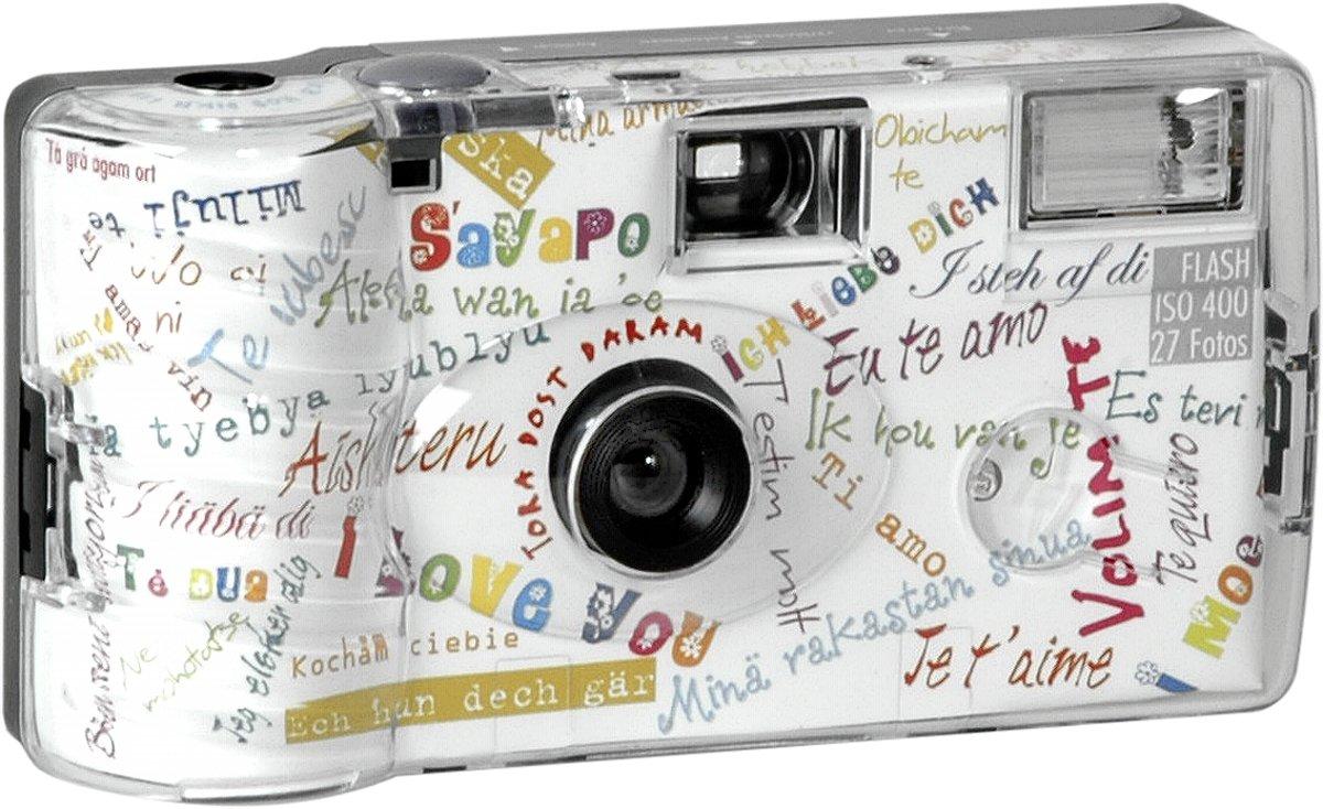 Single use camera Flash 400 27 I mog di Wit kopen