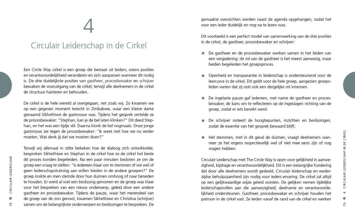 Le Leadership Circulairement - Christina Baldwin Et Ann Linnea GXh7VQuq
