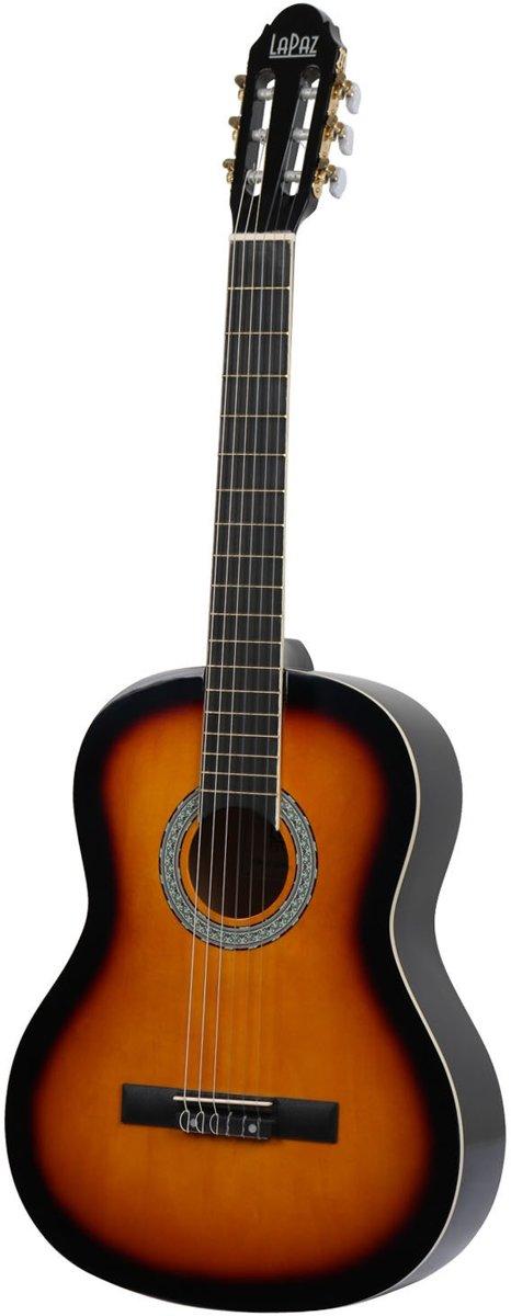 LaPaz 001 SB klassieke gitaar Sunburst