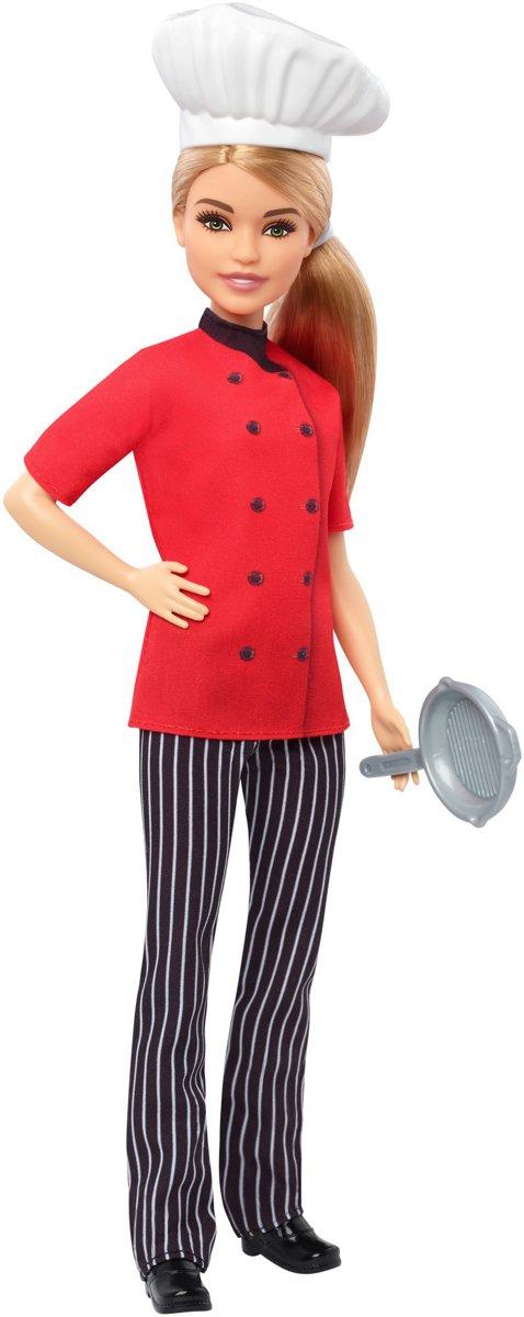 Barbie Careers Chef-kok - Barbiepop