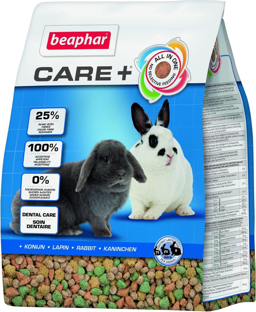 Beaphar Xtravital Care+ - Konijnenvoer - 1.5 kg