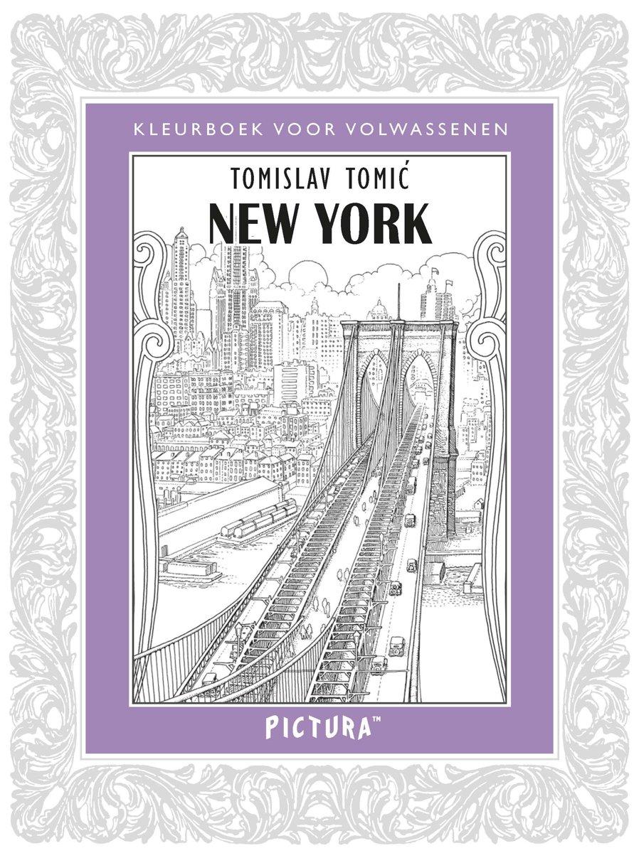 Kleurplaten Voor Volwassenen Parijs.Bol Com New York Tomislav Tomic 9789043918435 Boeken