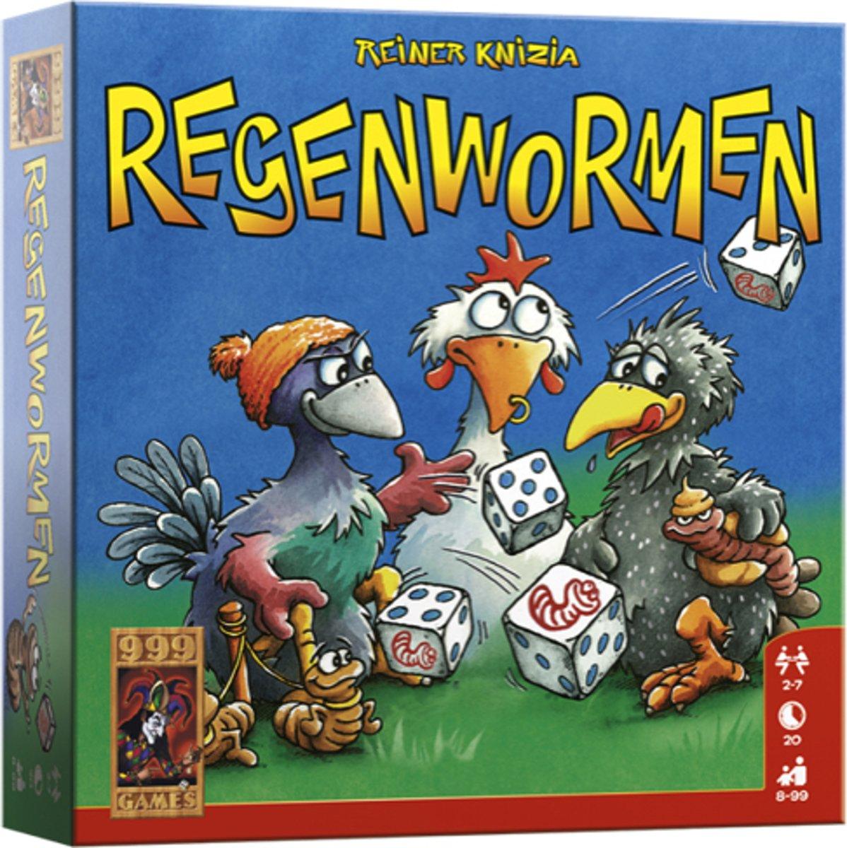 999Games - Regenwormen - Dobbelspel
