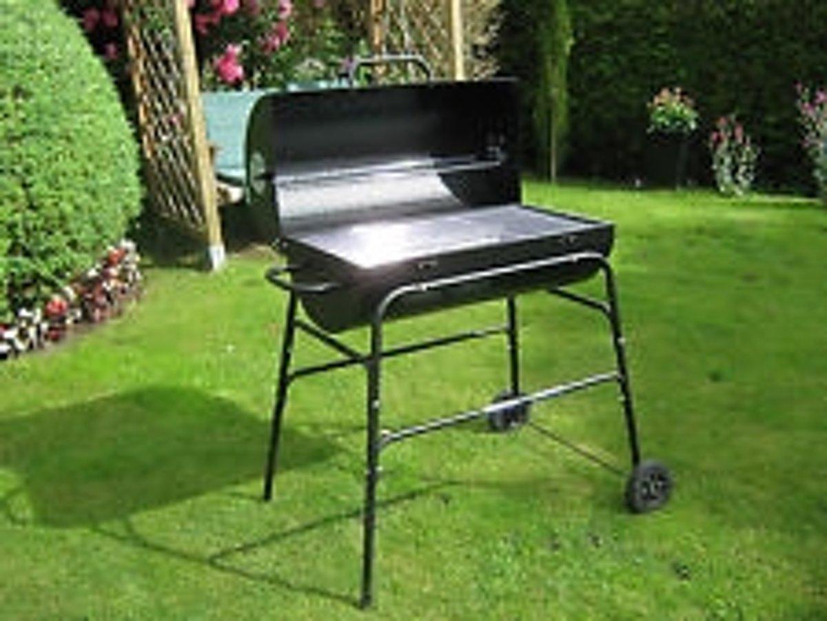 Welp bol.com | Houtskool barbecue BBQ met design van olievat QQ-03