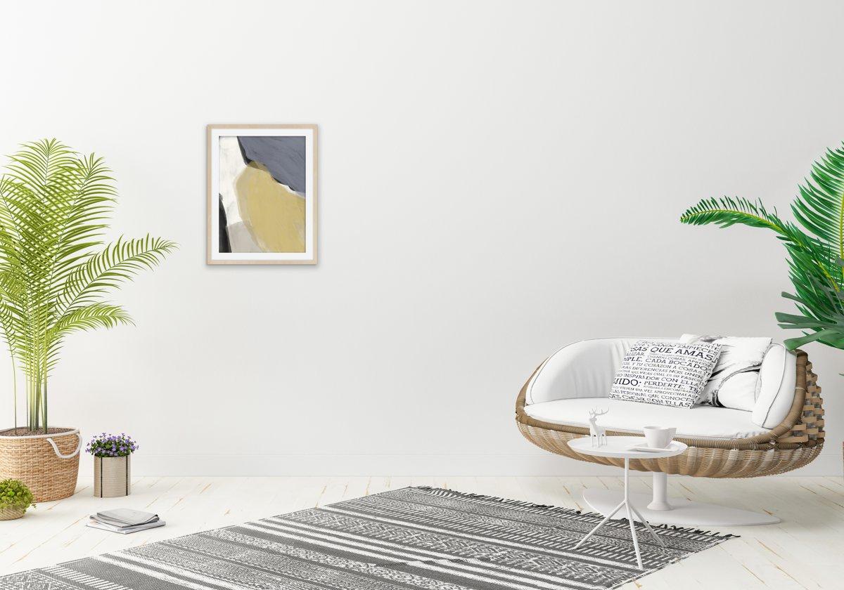 Bol minimalistische kunst schilderij interieur poster kunst