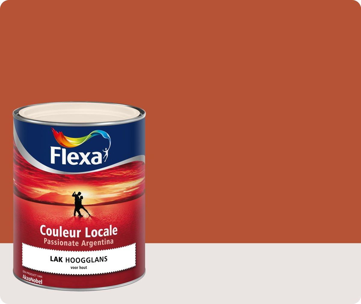 Flexa Couleur Locale - Lak Hoogglans - Passionate Argentina Fire  - 8045 - 0,75 liter