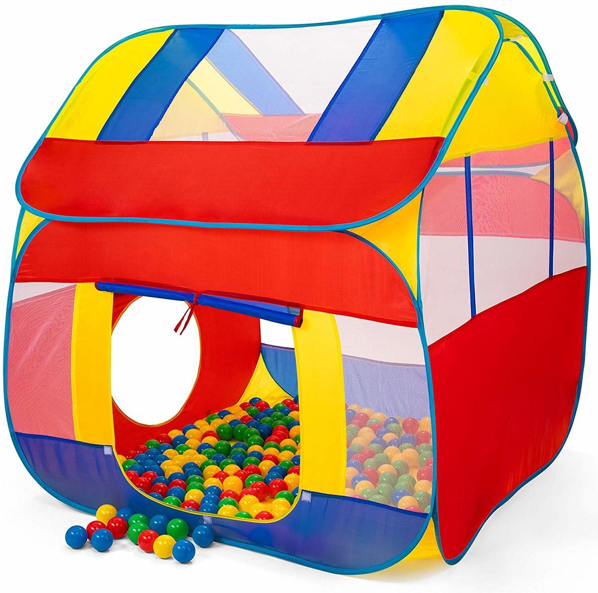 Ballenbad, speeltent, kindertent, met 300 ballen, voor binnen en buiten