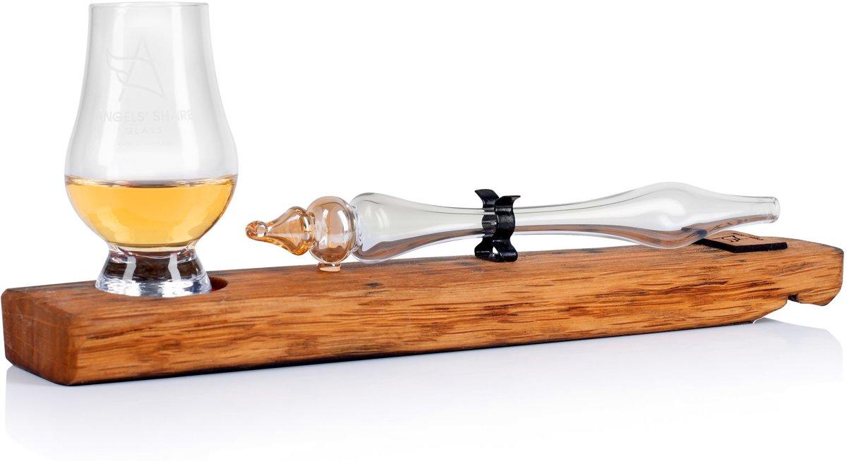 Whisky tasting set Gift Box met glazen pipet en Glencairn glas kopen