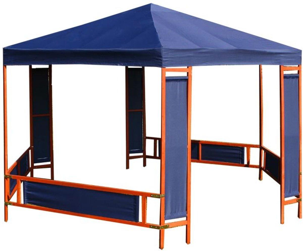 Onwijs bol.com | vidaXL - Partytent / Tuinpaviljoen Palermo 3.85 x 3.32 m QI-17