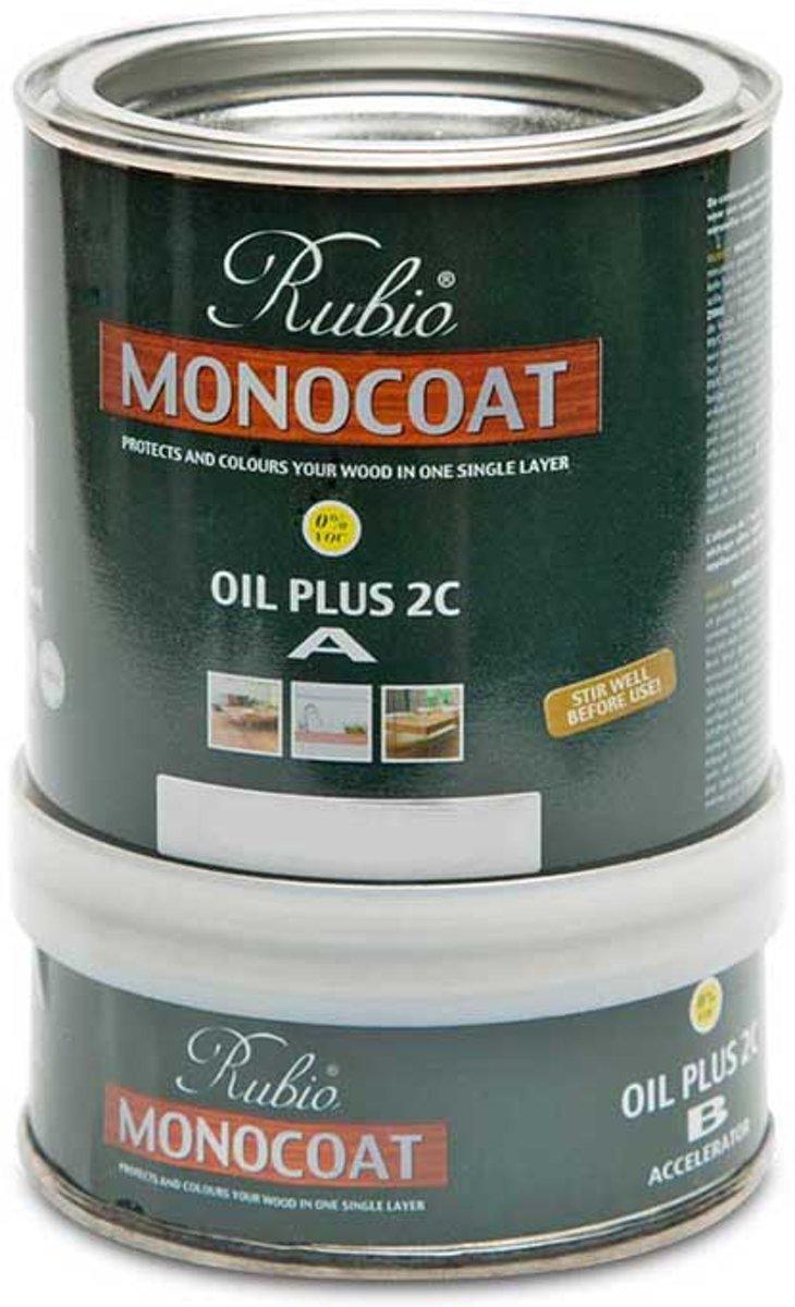 Rubio Monocoat Oil + 2C - comp. A - GOLD / metalen blik 0.5 L Kleur: Vanilla / Riga vloeren en kozijnen