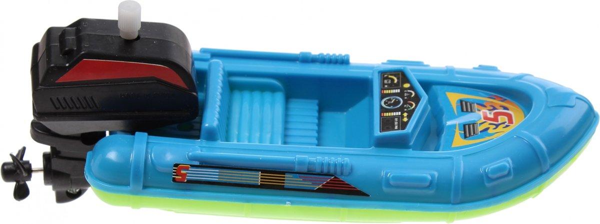 Waterzone Opwindbare Boot 15 Cm Blauw