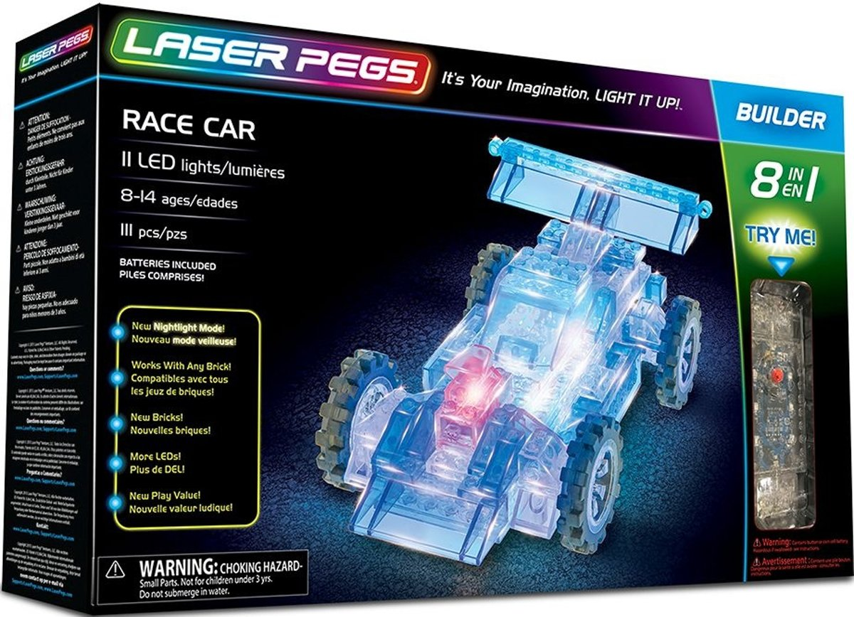 Auto Laser Pegs 8 in 1
