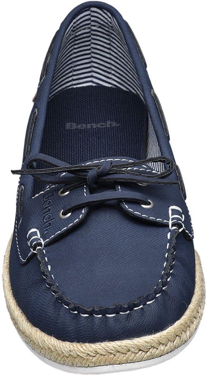 Bench Dames Blauwe bootschoen strik Maat 42