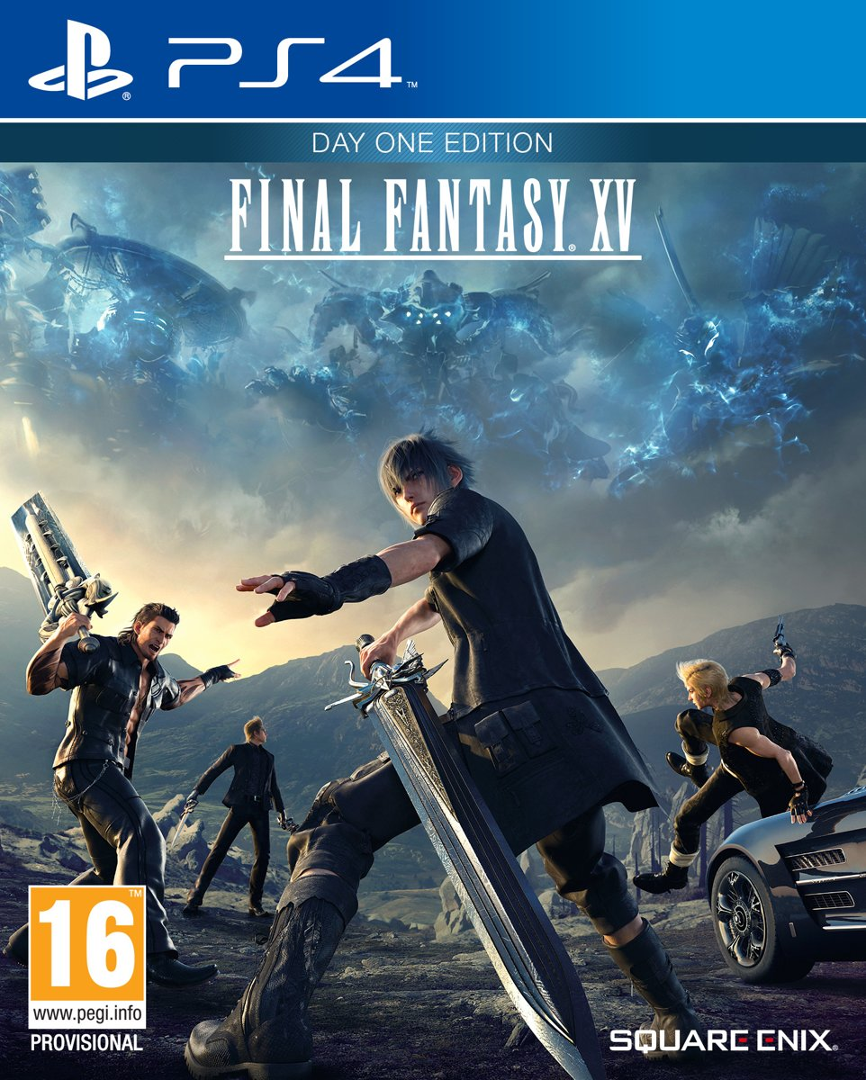Final Fantasy XV - Day One Edition - PS4 voor €16,99