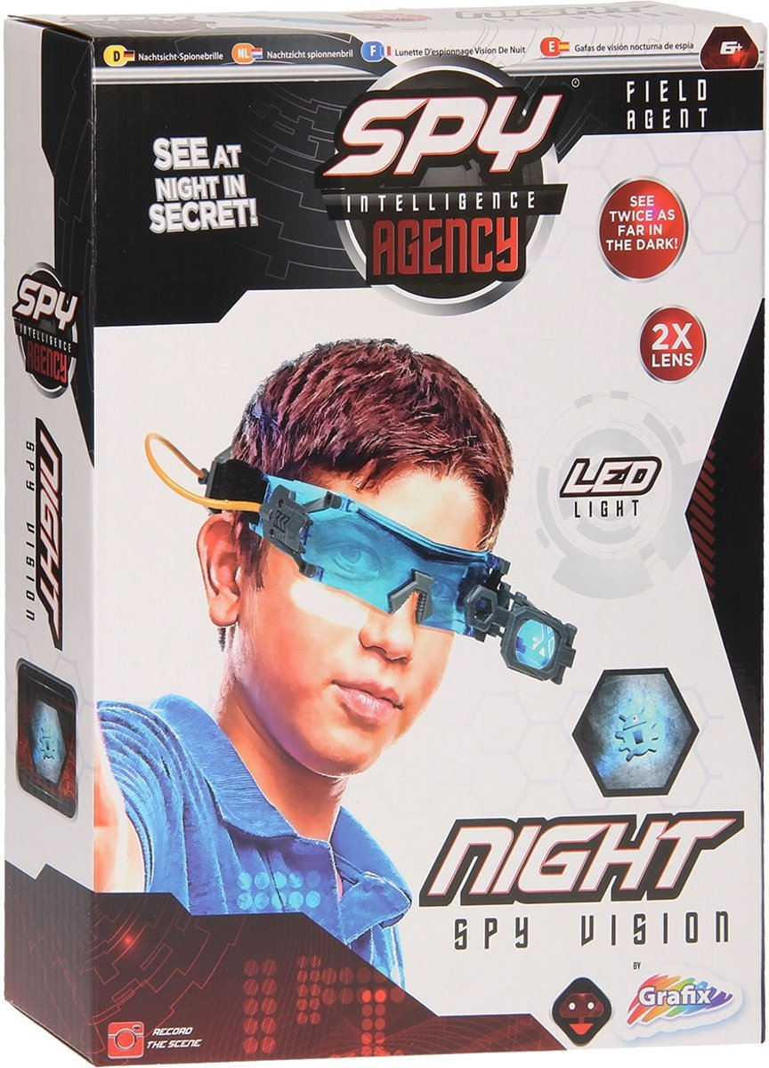 Spy Agency Spionnenbril