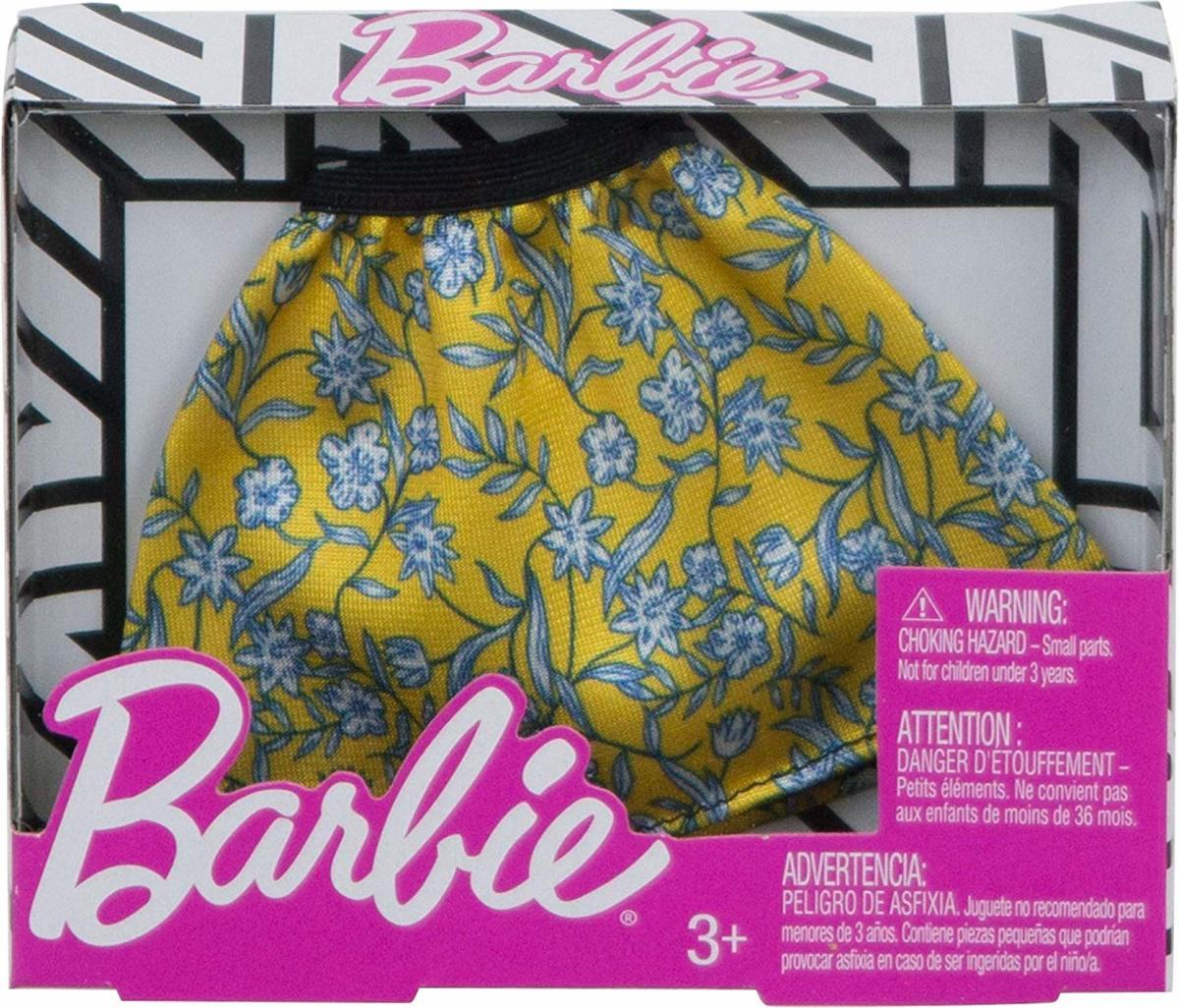 Barbie - Rokje Floral Geel