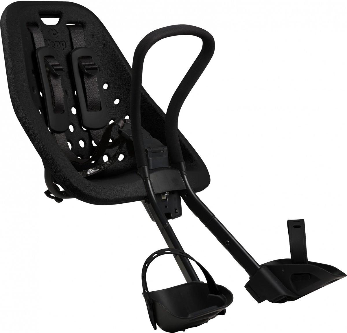Verbazingwekkend bol.com | Yepp Mini Fietsstoeltje Voor - Zwart NI-43