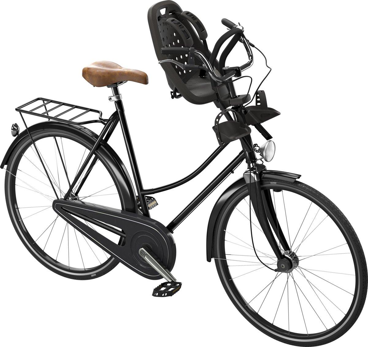 Welp bol.com | Yepp Mini Fietsstoeltje Voor - Zwart TH-17