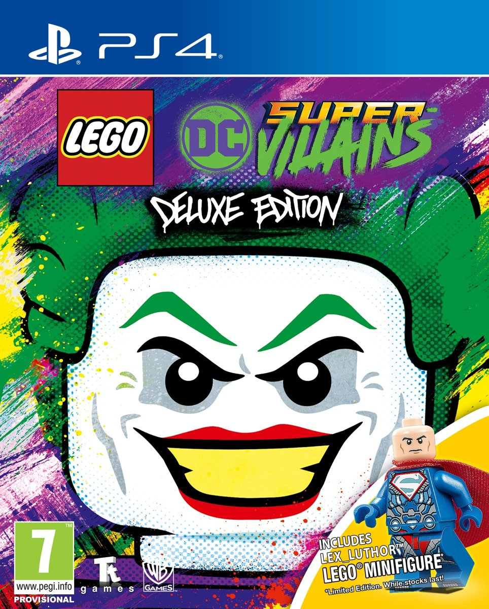 LEGO DC Super Villains - Deluxe Edition Switch