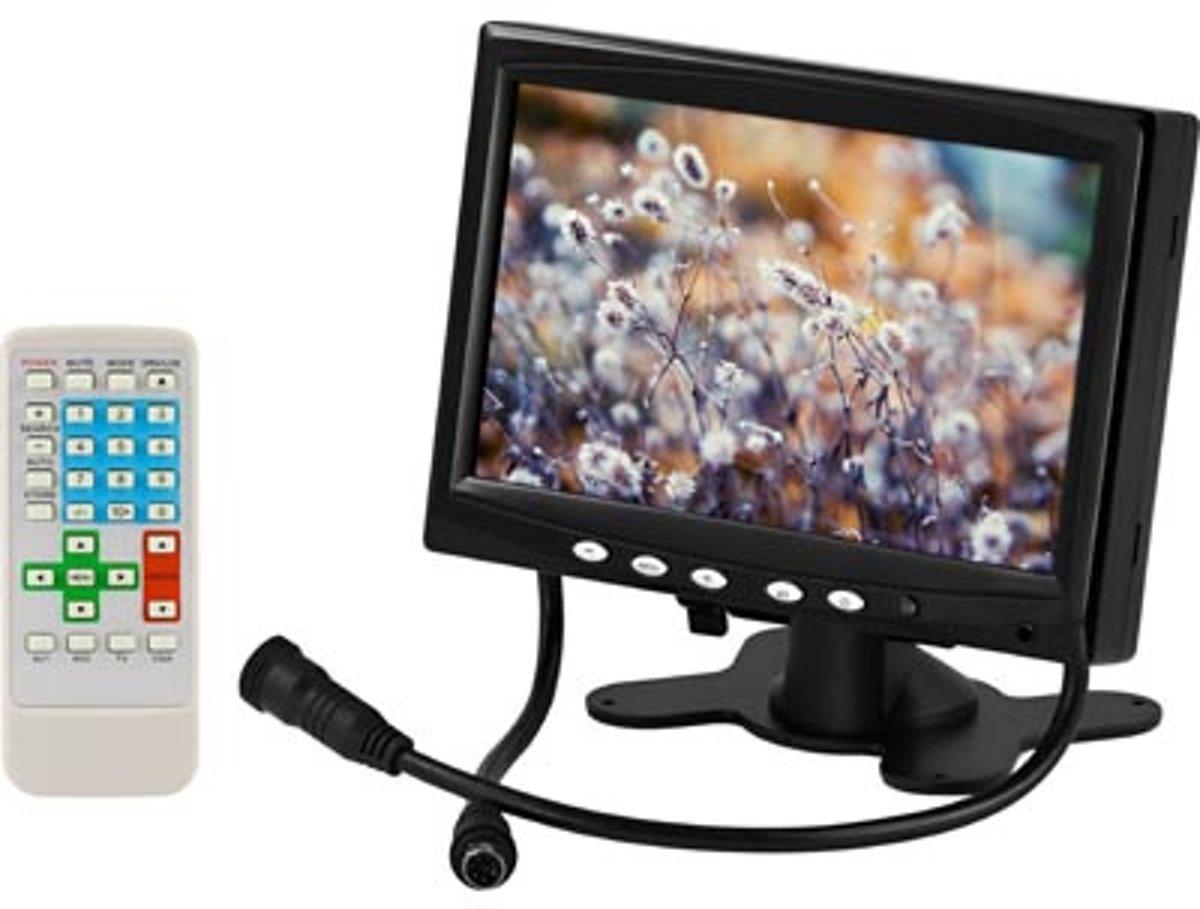 Deltaco TV-710 7'' 1024 x 768Pixels Zwart auto-TFT-monitor